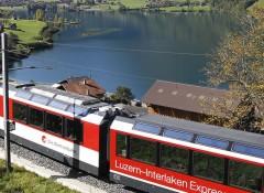 Grand Tour de trem pela Suíça